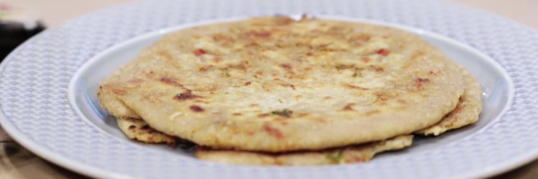 Nutrela Soya Gajar Muli Paratha
