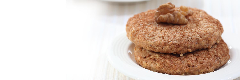 Nutrela Soya Choco Walnut Cookies