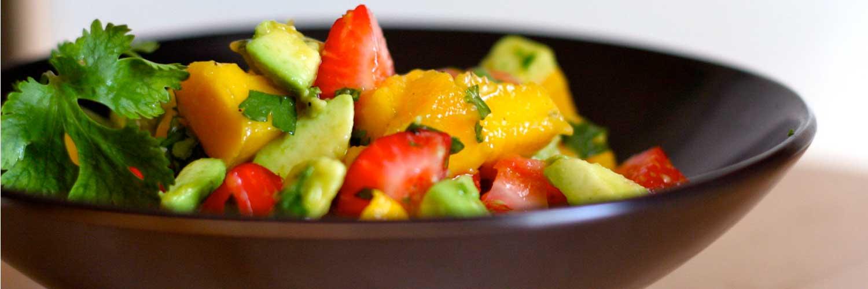 Fruit Salad With Nutrela Soya