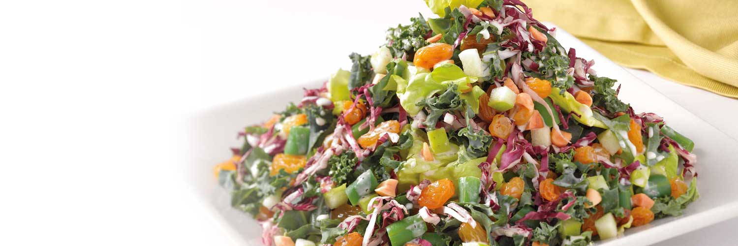 Antioxidant Salad With Nutrela Soya