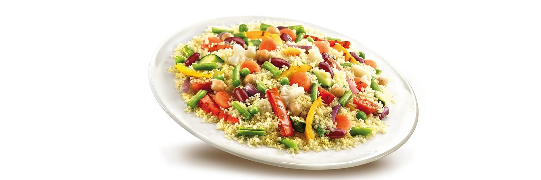 Nutrela Soya Paneer & Exotic Veg Combo With Quinoa