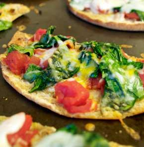 Nutrela Soya Vegetable Pizza