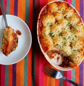 Nutrela Soya Shepherd's Pie