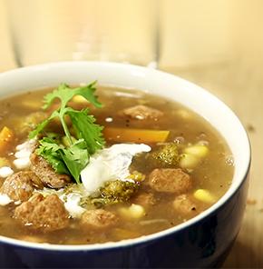 Nutrela Soya Chunks Soup