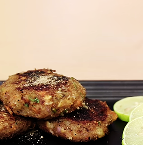Nutrela Soya Dry Fruits Stuffed Tikki