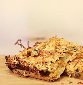 Nutrela Soya Mushroom Minced Pie