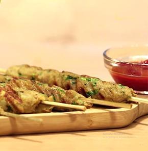 Nutrela Soya Seekh Kabab