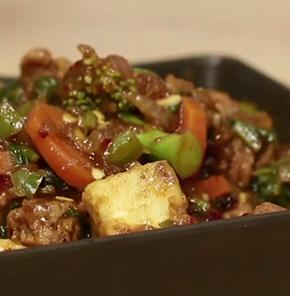Nutrela Soya Veggies With Garlic Sauce