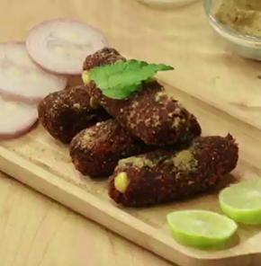 Nutrela Soya Beetroot Cutlet