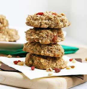 Nutrela Soya Chia Oatmeal Cookies