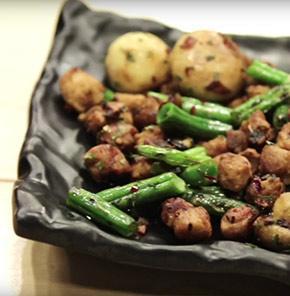 Nutrela Soya Mushroom Sizzler