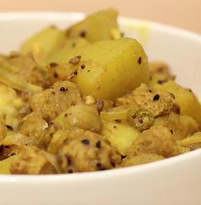 Nutrela Soya Pumpkin Sabji