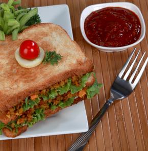 Nutrela Soya Carrot Toast