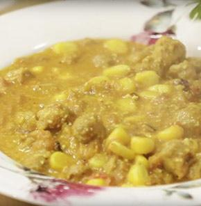 Nutrela Soya Corn Curry