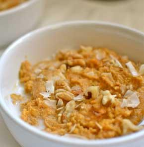 Pumpkin Spiced Oatmeal With Nutrela Soya