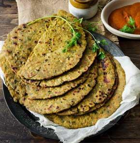 Nutrela Soya Bajra Aaloo Roti