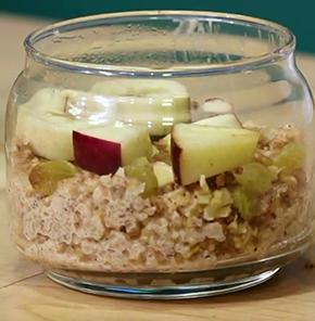 Nutrela Soya-bananna-apple-oatmeal Pudding